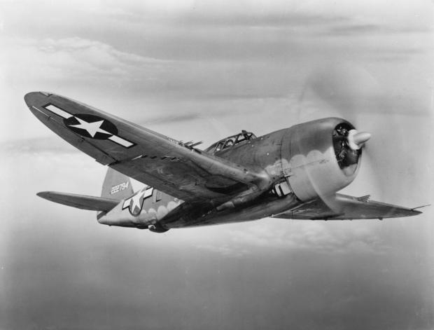 Republic P-47-D Razorback Thunderbolt
